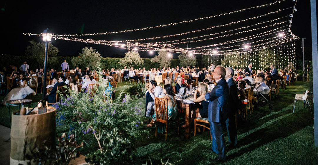 Wedding in Sicily Country Boho style