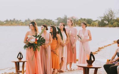 5 idee per dare un tocco di Living Coral alle vostre nozze, colore Pantone 2019.